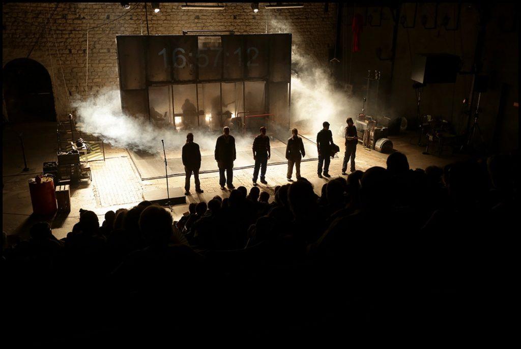 Visuel du spectacle L'établi - Cie du Berger