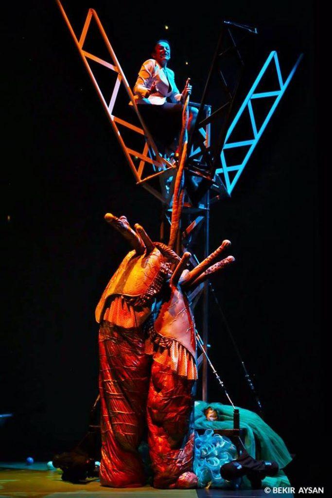 Visuel du spectacle La sextape de Darwin - Saison 2019/2020 - La Verrière